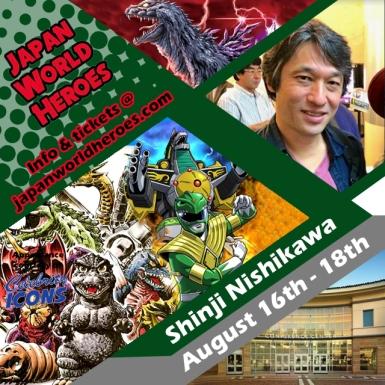Shinji Nishikawa - Godzilla Artist