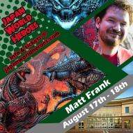 Matt Frank - Kaiju Artist Godzilla / Redman