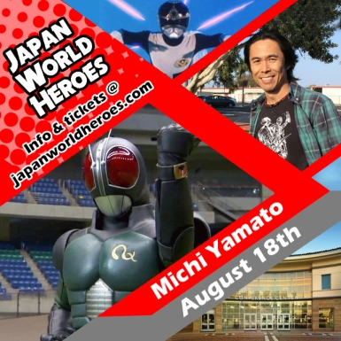 Michi Yamato - Maksed Rider